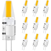DiCUNO G4 LED Light Bulbs, 2W (20W Halogen Equivalent), 200LM, Warm White (3000K), 12V, Non-Dimmable G4 Bulbs for Home…