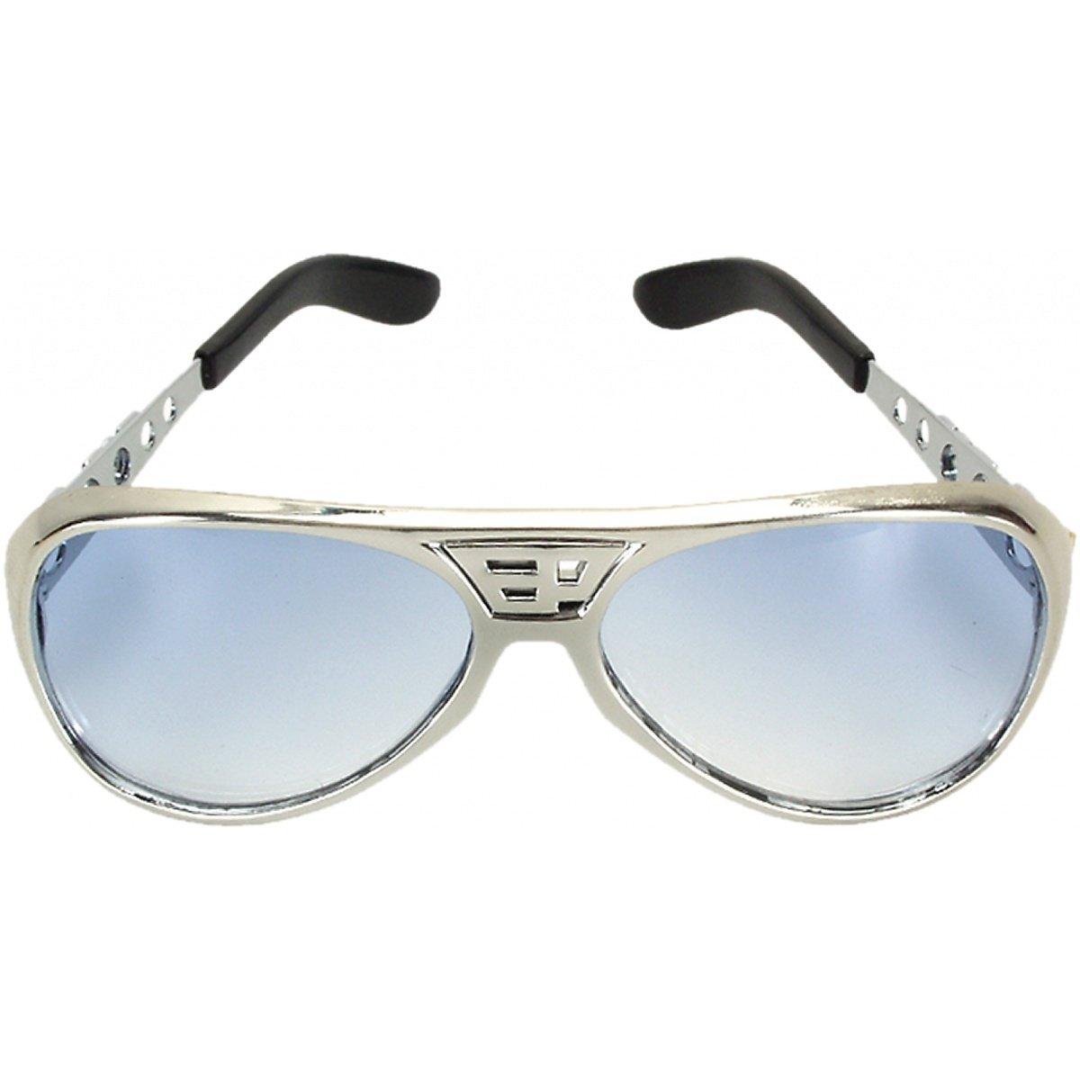 Amazon.com: Elvis cromo clásico anteojos de sol en color ...