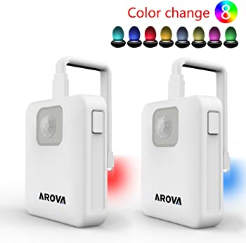 2-Pack AROVA Motion Activated Toilet Nightlight