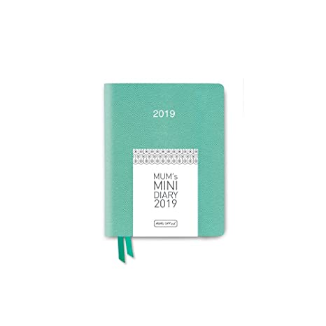 Mums Mini Agenda 2019, color Sea Green: Amazon.es: Oficina ...