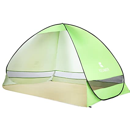 100% authentic 71361 075ef BATTOP Pop Up Beach Tent Camping Sun Shelter(Green)