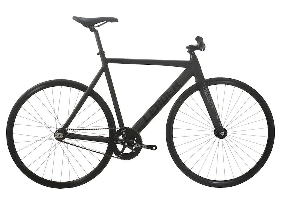 LEADER BIKES リーダーバイク CURE 2017 Complete Bike キュア コンプリートバイク 完成車 B01BRBU0FK M (57cm)|BLACK BLACK M (57cm)