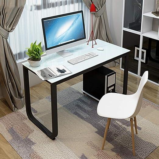 DLIBIG Mesa Computadora Escritorios Oficina Mesa Estudio Trabajo ...