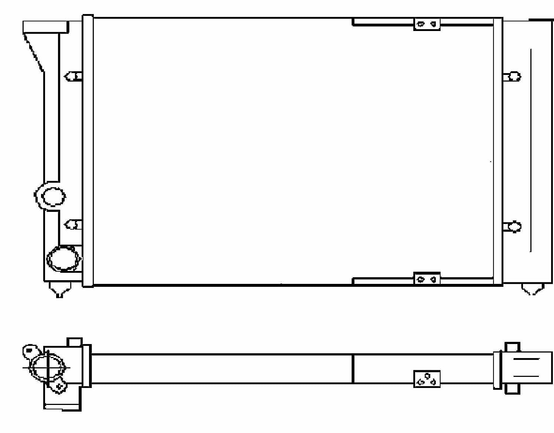 BEHR HELLA SERVICE 8MK 376 715-301 *** PREMIUM LINE *** Radiador, refrigeració n del motor refrigeración del motor Hella KGaA Hueck & Co. 376715301