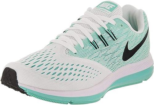 Nike Wmns Zoom Winflo 4, Zapatillas de Running para Mujer, Multicolor (White/Black/Aurora Green 102), 38.5 EU: Amazon.es: Zapatos y complementos