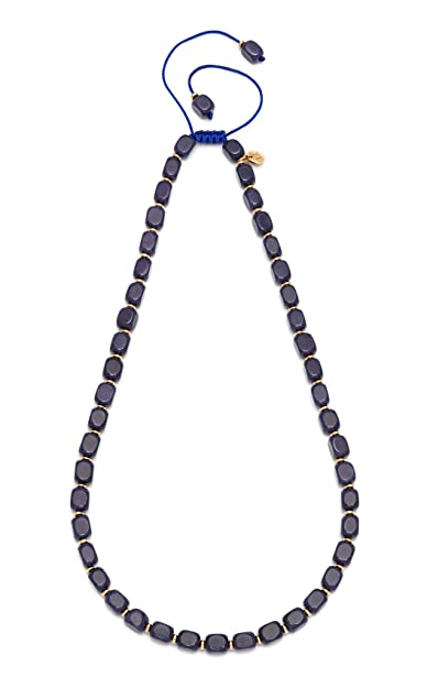 Lola Rose Women's Base Metal Marlin Ocean Blue Rock Crystal Necklace of Length 50-68 cm ovwFGAP3SI