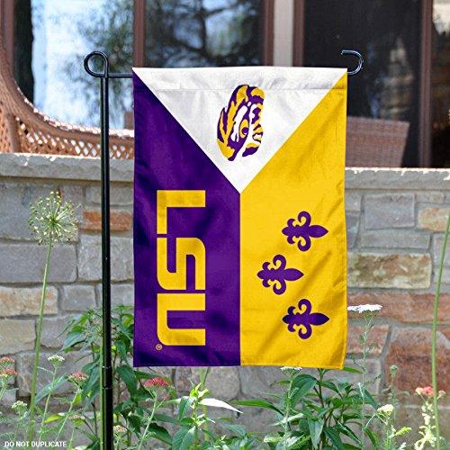 Louisiana State University Acadian Garden Flag