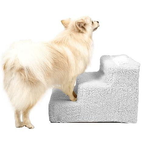 Buyi-World Scale Dogs Cats 3 Step Step Escalera Juegos para perros Mascotas Gatos Animales