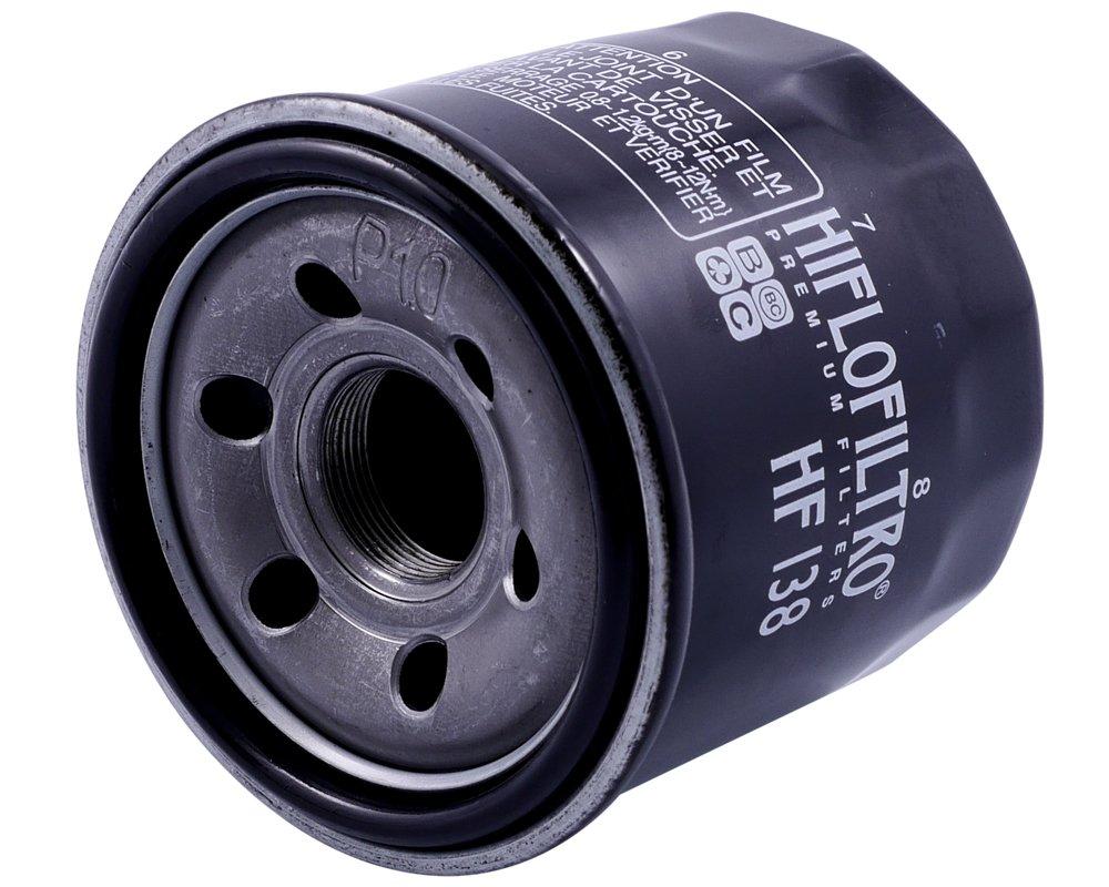 53/kw /Ölfilter HIFLOFILTRO f/ür Suzuki SFV 650/Gladius L3/CX1111/2013/72/PS