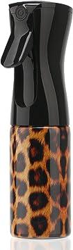 Image ofSegbeauty Botella de Spray para Cabello Niebla Fina, 160ml Botella de Pulverización Continua de Plástico, Pulverizador de Limpieza Sin Aire Botella de Agua de Mano para Plantas para Perros
