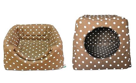 Baldiflex - Romeo - Cama y caseta blanda de interior para perro o gato (42