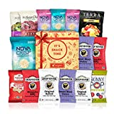 Vegan Snacks Healthy Gift Box Premium Care Package School Lunch for kids Bundle 15 ct