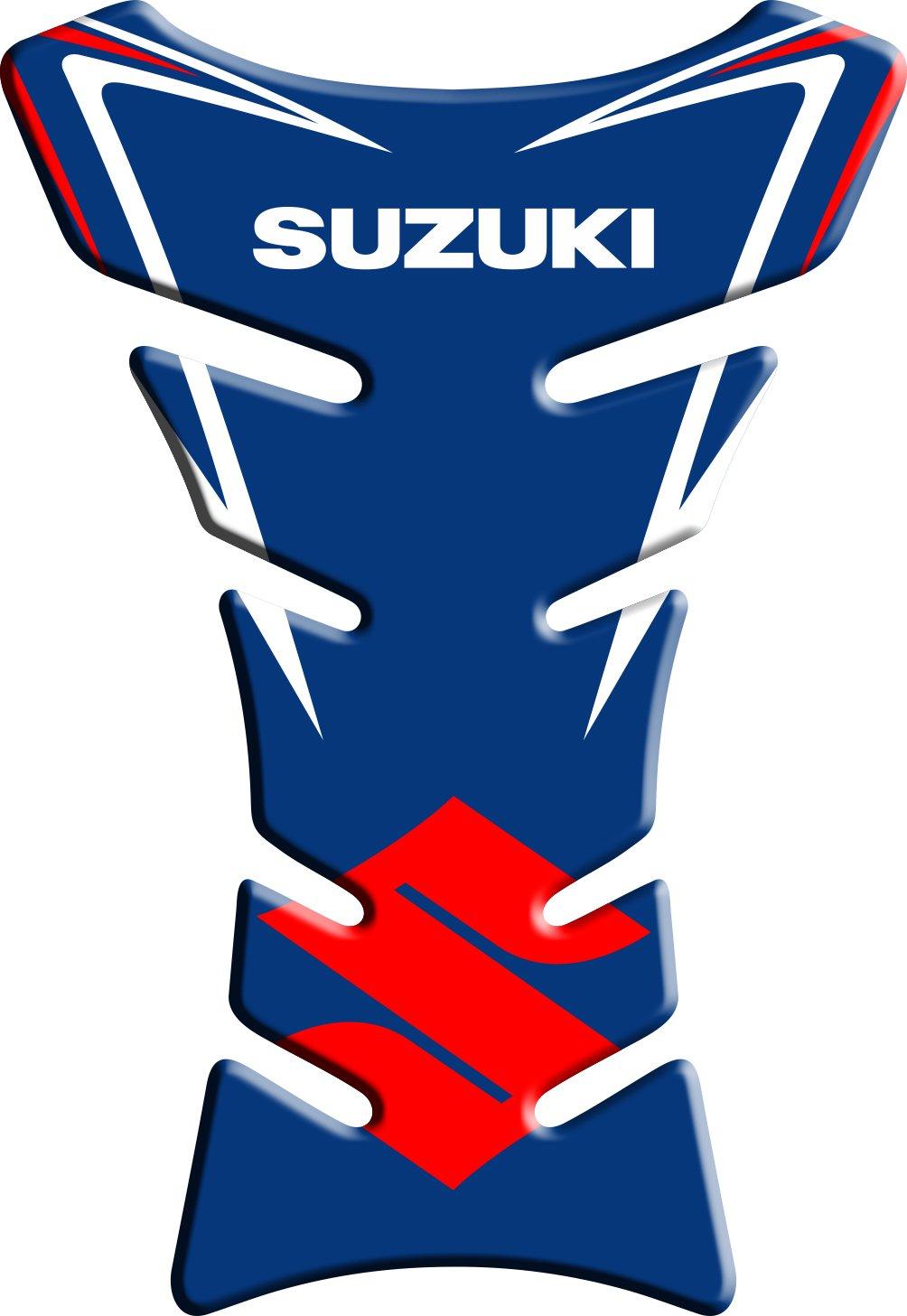 tanque de la motocicleta y la protecci/ón de la pintura universal Motoking tanque pad compatible ETIQUETAS 3D-ETIQUETAsuzuki 3