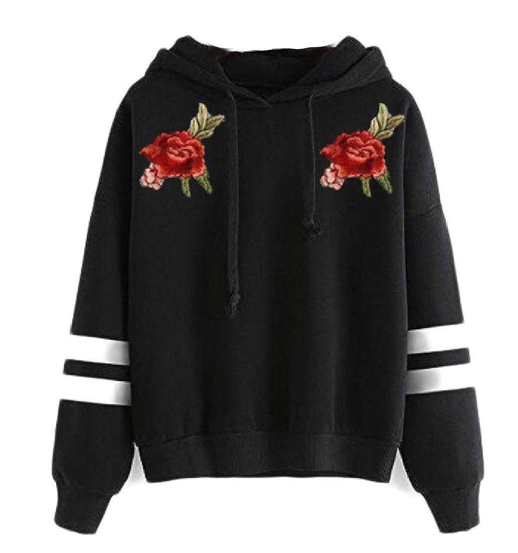 Comfy Womens Hood Slim Fitted Sweatshirt Drawstring Pullover