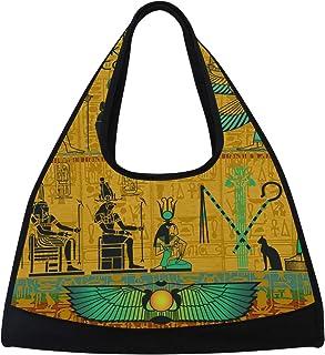 DragonSwordlinsu COOSUN Ensemble de sacoches de Style égyptien Antique, Sac à bandoulière Pratique pour Le Sport, la Gym, Le Tennis, Le Badminton, pour Homme et Femme