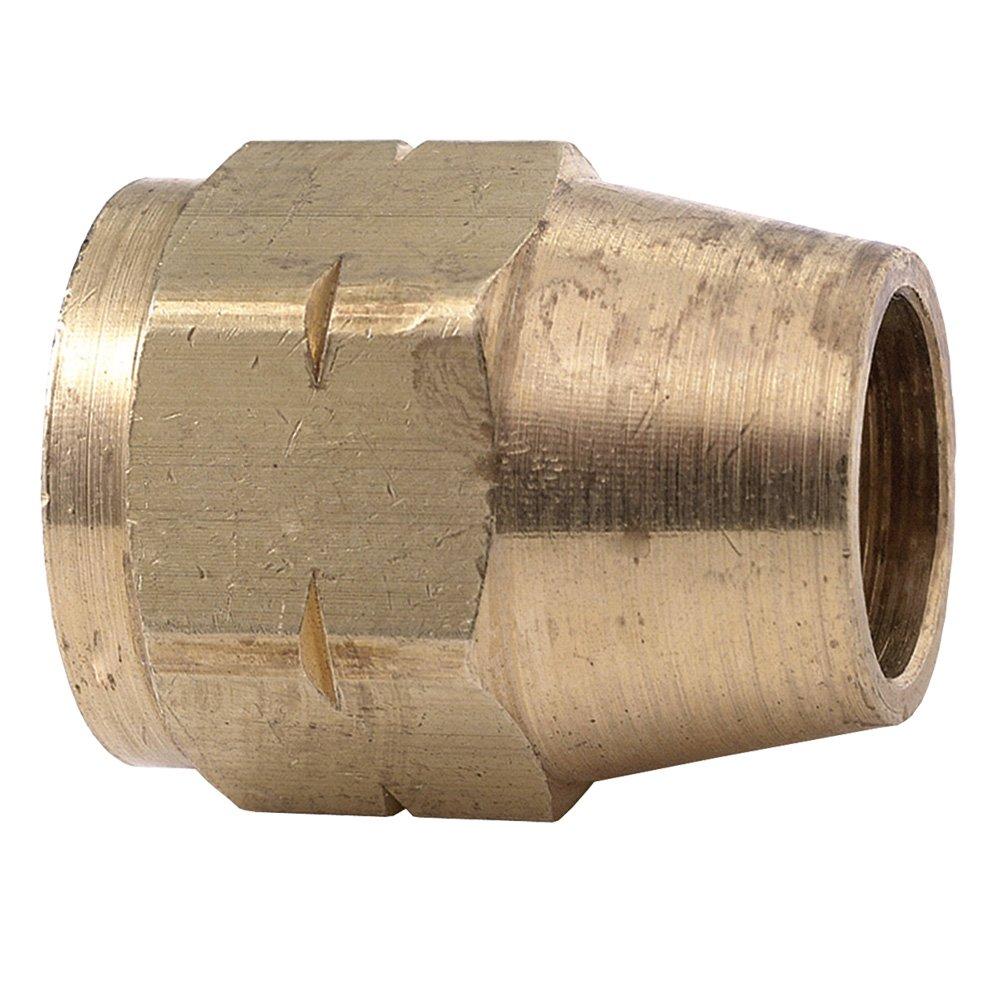 Brasscraft 41L-4 1//4 O.D Nut Rough Brass Trumbull Industries