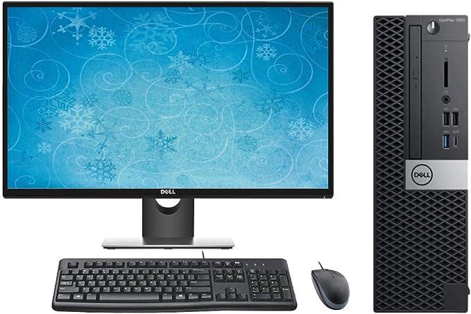 "Dell Optiplex 7060 SFF Performance Desktop PC Bundle, 27"" Display, Keyboard, Mouse, Intel i7-8700 3.2GHz, 64GB RAM, 2TB M.2 SSD, Windows 10 Pro OS   Amazon"