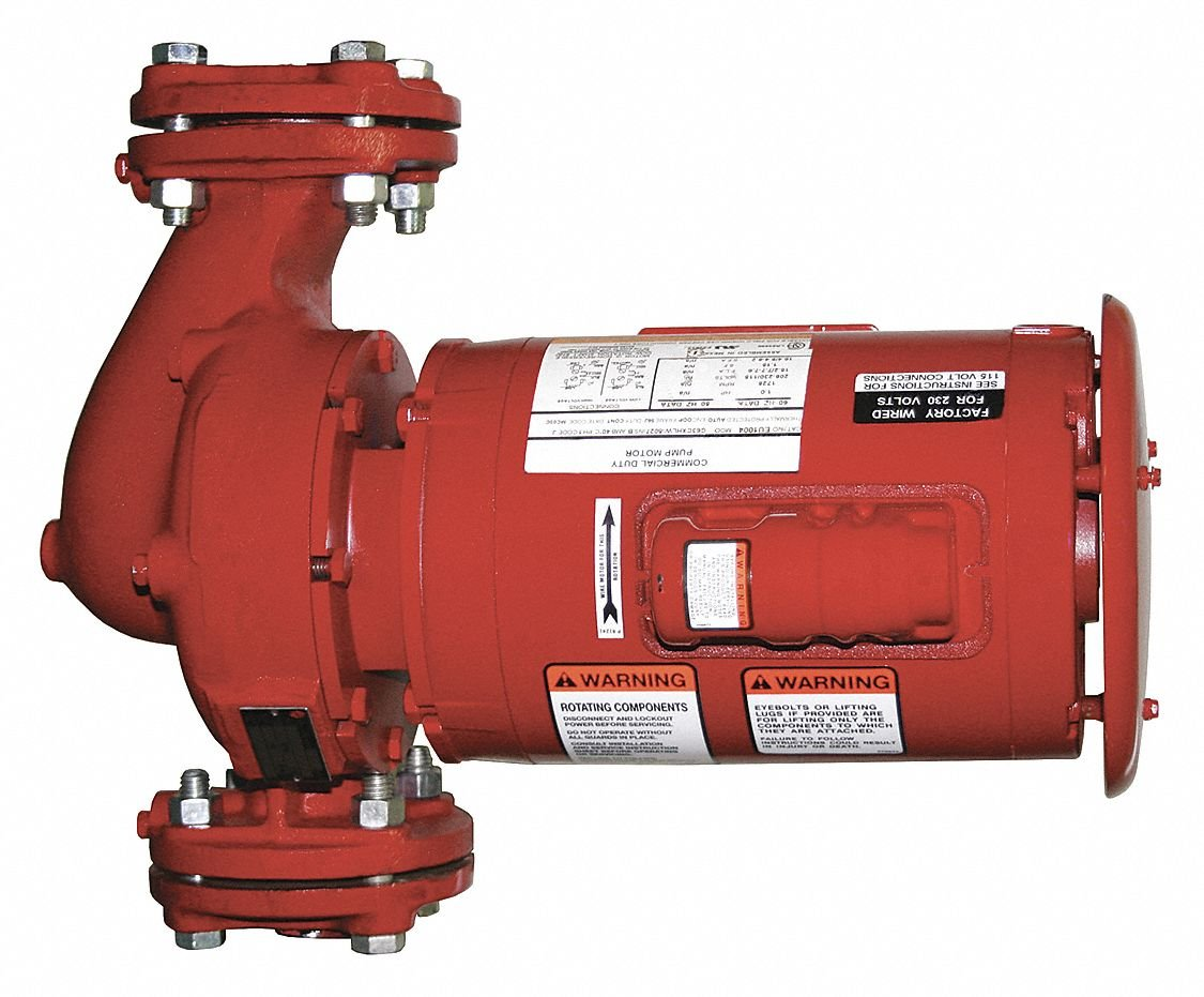 Hydronic Circulating Pump 3//4HP