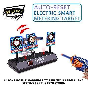 d3e765a5b Cyhulu Latest Electronic Scoring Digital Target for Nerf N-Strike  Elite/Mega/Rival