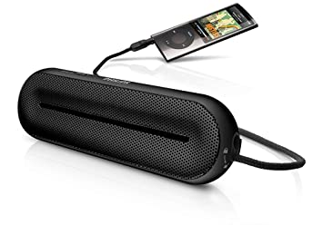 Philips MP3 portable speaker SBA1600BLK - portable speakers