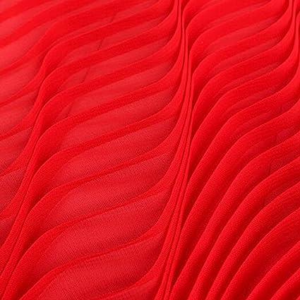 1M DIY Sewing Soft Pleated Chiffon Fabric Craft Material Dress Skirt 17#Champagne Orange