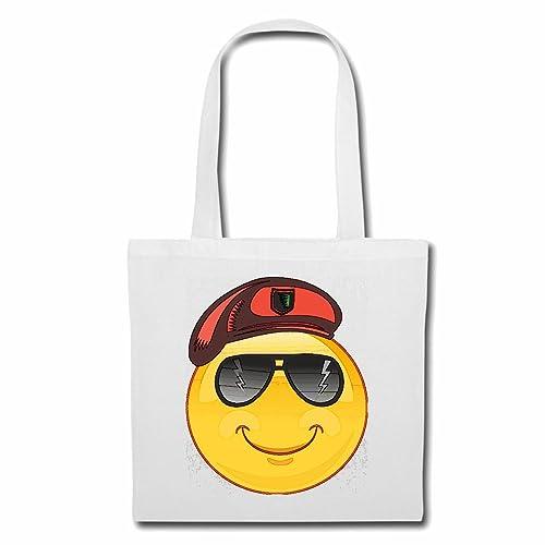 Bolsillo Bolso Bolsa Smiley como SARGENTO con gafas de sol ...