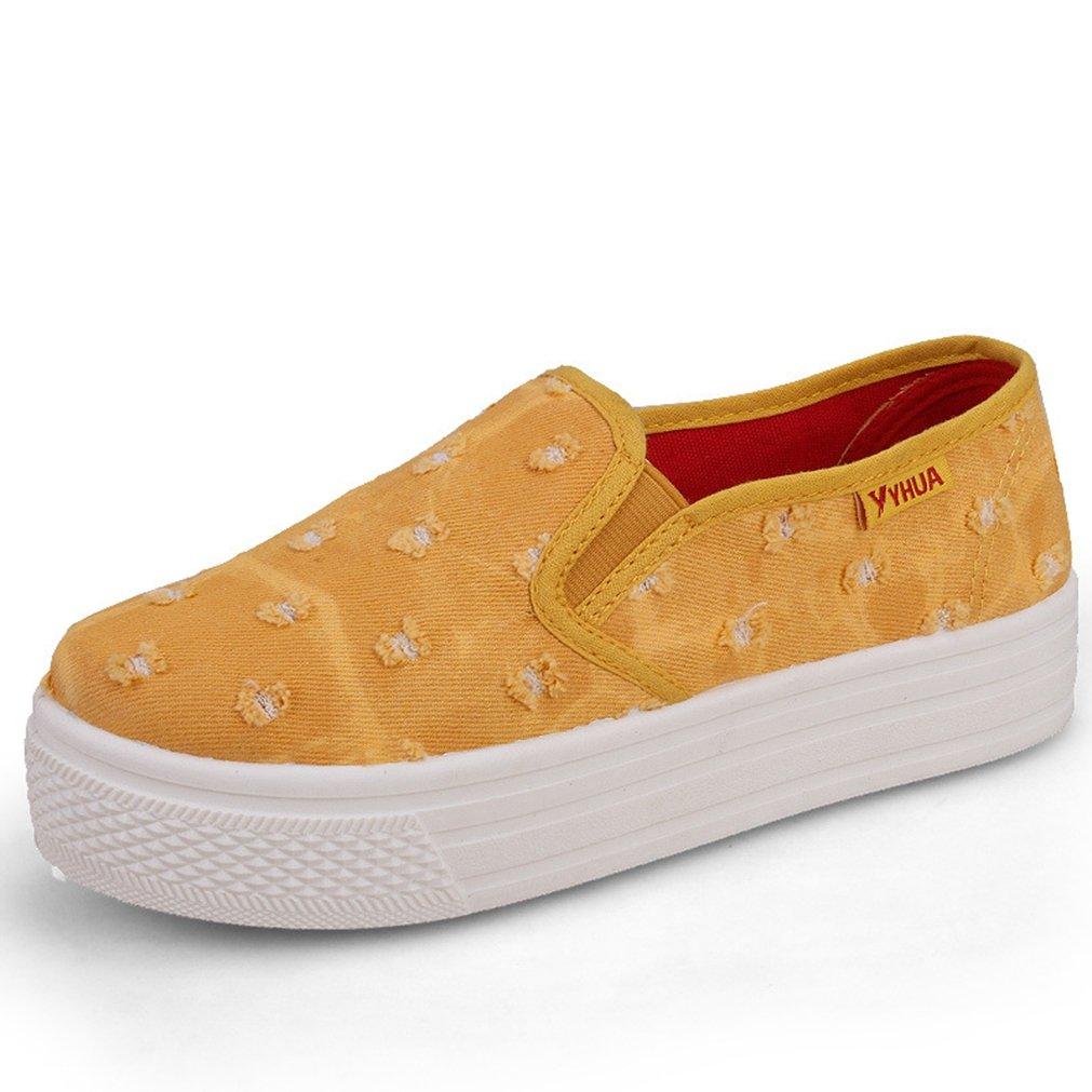 JRenok Chaussure Femme Simple 18121 Tolie Simple Chausson à Enfiler B0000AFT8E Jaune a776b95 - gis9ma7le.space