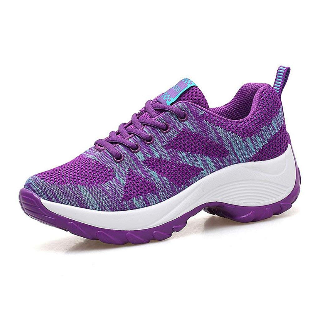 HhGold Sommer-Wanderschuhe Damen-Turnschuhe Ultra Light Breathable Mesh Klettern Outdoor-Schuhe Sport Rutschfeste Reisen Wanderschuhe (Farbe   C Größe   39) (Farbe   C Größe   37)