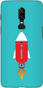 Stylizedd OnePlus 6 Slim Snap Basic Case Cover Matte Finish - Amman-13