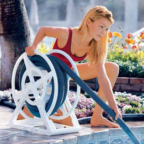 pool backwash hose reel - 6