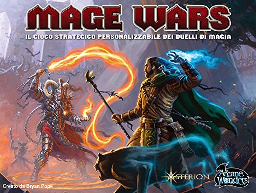 Arcane Wonders Mage Wars Game