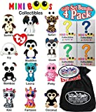 "TY Mini Boos Hand Painted Collectible Figurines Series 1 Blind Box Gift Set Party Bundle with Bonus ""Matty's Toy Stop"" Storage Bag - 4 Pack, is AWESOME! This is an absolute necessity for any TY fan! Gift Set Party Bundle Includes 4 Blind Boxes from t..."