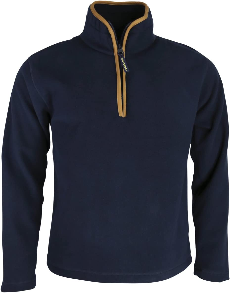 Huntsbury Angleterre pour Homme Country Pull en Laine Polaire