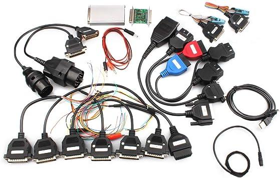 Car ECU Programmer Tool V10.05 Carprog Full New Version With All 21 Item Adapter