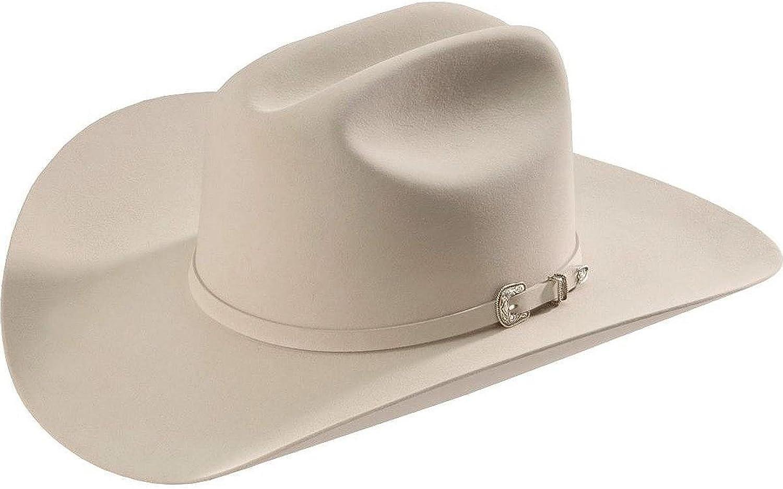 Rftant-754071 Silver Belly RESISTOL Mens Tarrant 20X Fur Felt Cowboy Hat