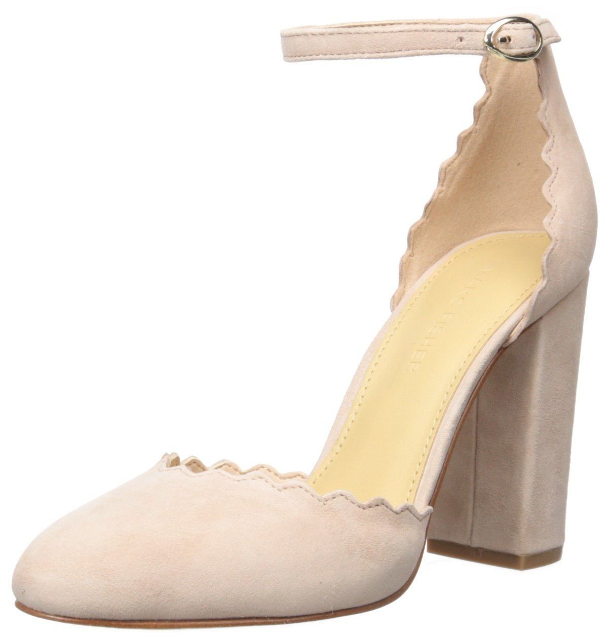 Marc Fisher Women's Sahar Pump B01N7IAMAB 5 B(M) US|Light Pink