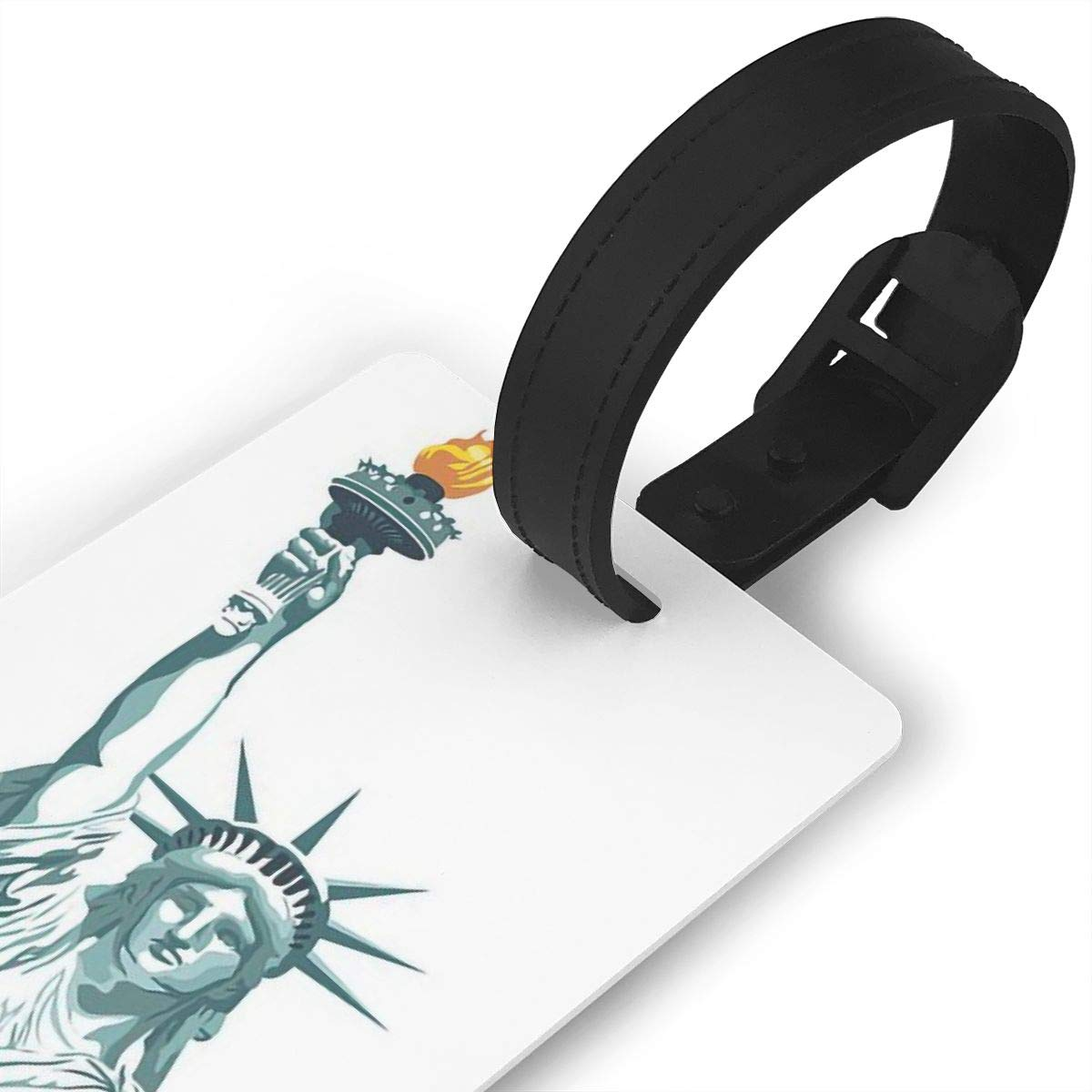 Statue Of Liberty Handbag Tag For Suitcase Bag Accessories 2 Pack Luggage Tags