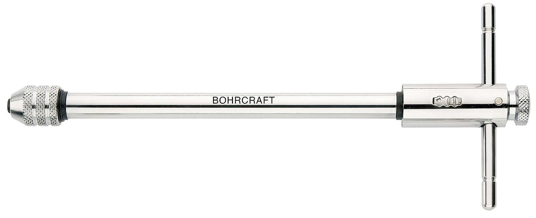 Bohrcraft–Portaherramientas con carraca (Modelo largo, nº 20para M 5–M 12de Lose/del paquete, 1pieza, 43021500020 nº 20para M 5-M 12de Lose/del paquete 1pieza