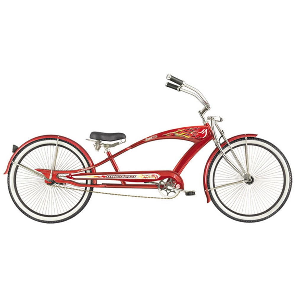 Micargi Gts Beach Cruiser Bike Red Puma 26 Inch
