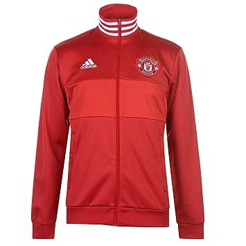 Fc rojrearojuni Manchester Xs Rouge Veste Homme United Adidas aEBx0w
