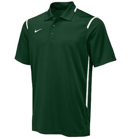 f2b0343b3d86 Amazon.com  New Nike Men s Dri-Fit Gameday Polo Shirt Green 658085-342 Size  L  Sports Collectibles