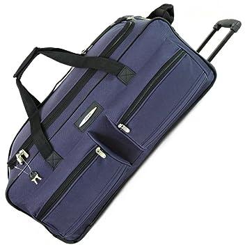 c64f6f8e1c Jeep Large 27 Inch Wheeled Holdall Bag (Navy)  Amazon.co.uk  Luggage