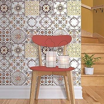 Muriva Tapete Kachel Design Für Küchebad Vinyl Motiv J95605