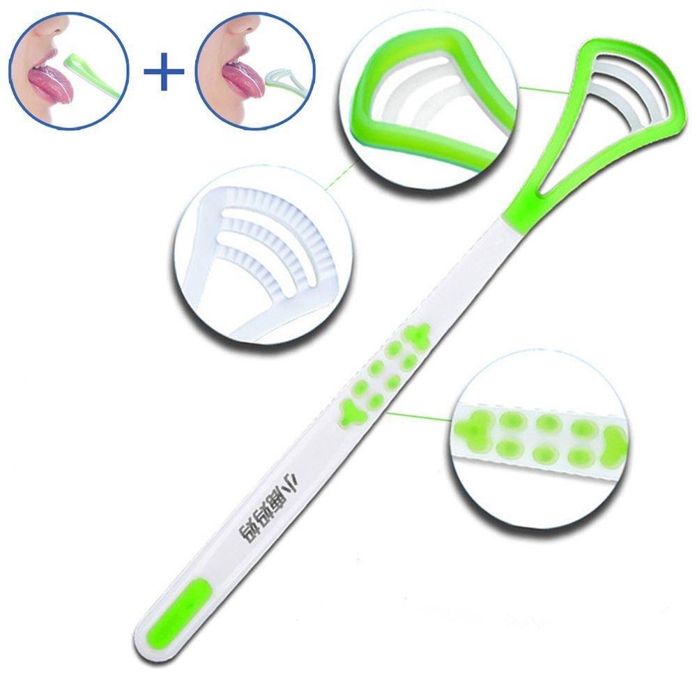 Pocktyle Random Color HOT Fresh Breath Cleaning Oral Cleaner Hygiene Dental Tongue Scraper