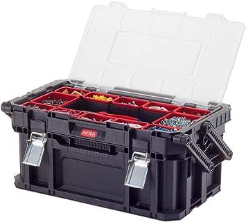 Keter Connect Canti Tool - Caja de herramientas, color negro y ...
