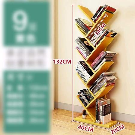 Zr 9 Shelf Tree Bookshelf Tree Shape Floorstanding Bookshelf