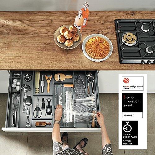 Compra Blum© PREMIUM CALIDAD I Ambia de Line pantalla Schneider I aluminio pantalla dispensador I folienabroller para cajón de cocina cajón Incluye ...