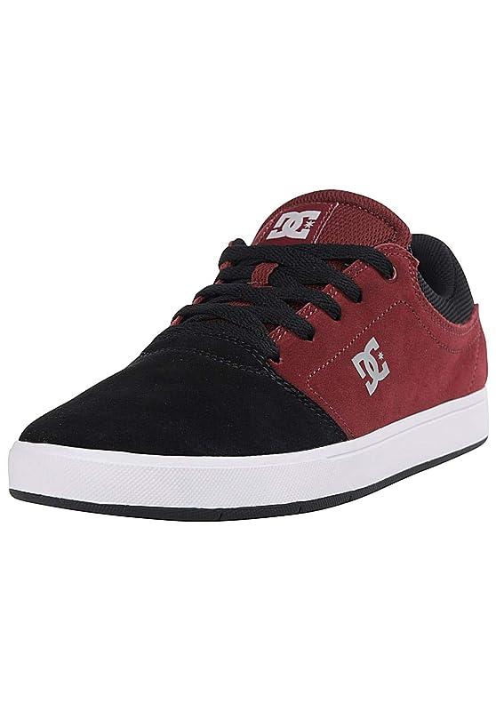DC Shoes Crisis Sneaker Herren Weinrot/Schwarz