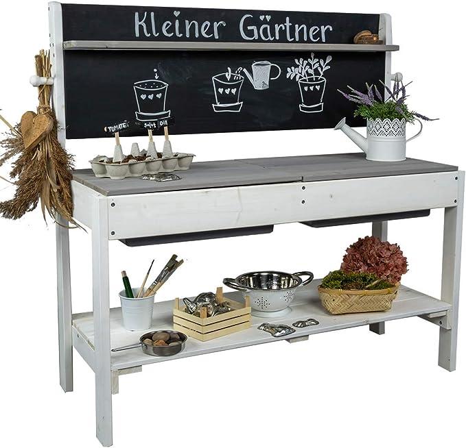 Meppi Matschküche Kleiner Gärtner - Meppi Matschküche Grau