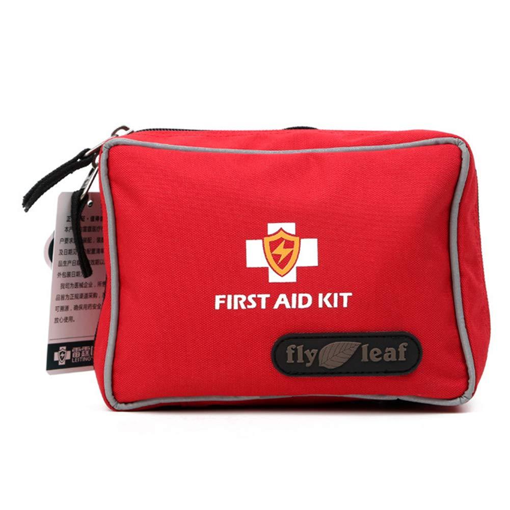 Erste-Hilfe-Kit, Auto-Erste-Hilfe-Kit für den Außenbereich, Auto, Erste-Hilfe-Set für Reisen, Wasserdichte und tragbare medizinische Tasche, Leere Tasche, Tragbare Erste-Hilfe- und Rettungsausrüstung